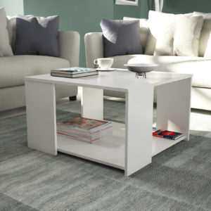 Coffee Table  White Gloss Color