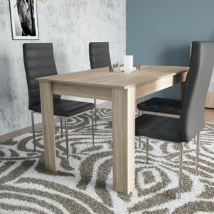 Dinning Table for 4 Persons In Natural Oak Color