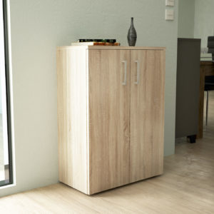 Low Cabinet in Natural Oak Color