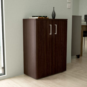 Low Cabinet in Dark Brown Color