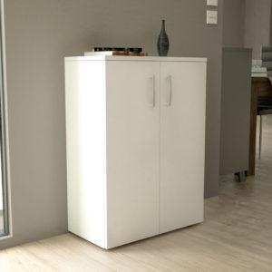 Low Cabinet in White Matt Color