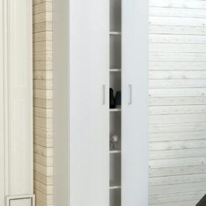 2 Door Cabinet in White Matt Color
