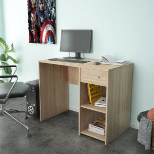 Office Desk In Natural Oak Color