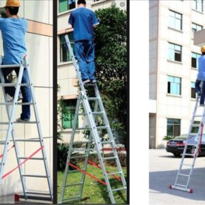 Extension Aluminium Ladder