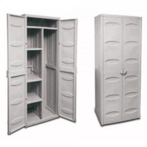 Plastic Broom Cabinet