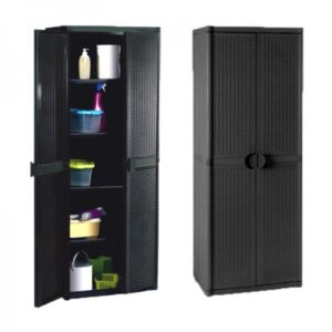 Plastic Shelves Cabinet