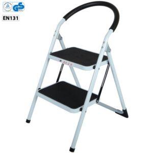 Wide 2 Step Ladder